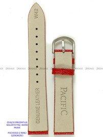 Pasek skórzany do zegarka - Pacific W42.12.4 - 12 mm