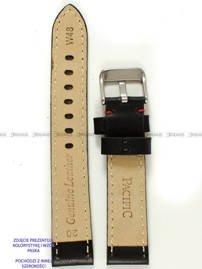 Pasek skórzany do zegarka - Pacific W48.22.1.4 - 22 mm