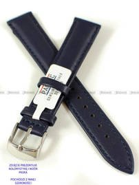 Pasek skórzany do zegarka - Pacific W70L.14.5.5 - 14 mm