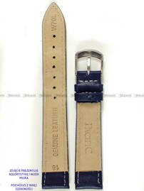 Pasek skórzany do zegarka - Pacific W70L.26.5.7 - 26 mm