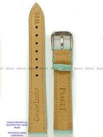 Pasek skórzany do zegarka - Pacific W95.18.9.9 - 18 mm