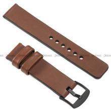 Pasek skórzany do zegarka lub smartwatcha - moVear WQU0S010000BKMM20B2 - 20 mm