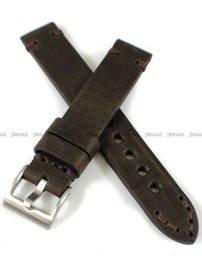 Pasek skórzany ręcznie robiony do zegarka - Tekla PT-HM1-18.2.2 - 18 mm