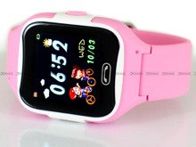 Smartwatch Dziecięcy Pacific 08-Pink-Pink