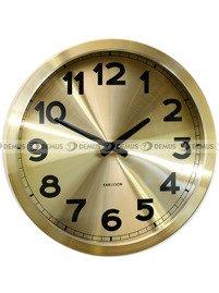 Zegar ścienny Karlsson Gold Station KA5408GO
