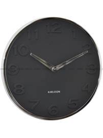 Zegar ścienny Karlsson New Original Number KA5759BK 30 cm