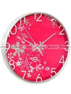Zegar ścienny Zuma-Line RC2212PC.RD-AL