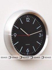 Zegar ścienny aluminiowy M2711-SB