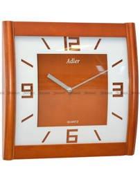 Zegar ścienny drewniany Adler 21157-CH