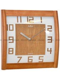 Zegar ścienny drewniany Adler 21157-Oak