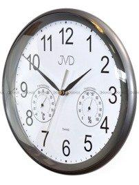 Zegar ścienny z higrometrem JVD HTP64.2