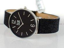 Zegarek Damski Ice-Watch - City Sparkling Glitter Black S 015088
