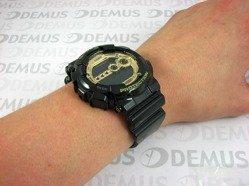 Zegarek G-SHOCK BLACK AND GOLD GD-100GB 1ER