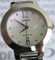 Zegarek okrągły biżuteryjny Casio LTP 1282D 7AEF