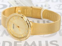 Zegarek pozłacany Adriatica A3645.1111QZ
